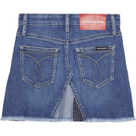 A-Line Patchwork denim skirt - Calvin Klein