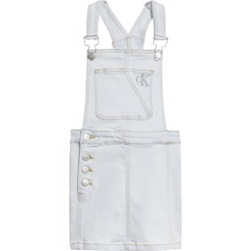 Dungaree dress super light blue clean - Calvin Klein