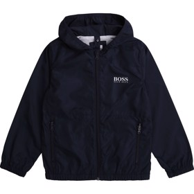 Jakke Essentiel Windbreaker Navy - BOSS