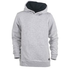 JCOBUTTON Sweat hoodie, Light Grey Melange - Jack & Jones JR