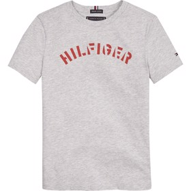 Essential Tommy Graphic T-shirt grå - Tommy Hilfiger