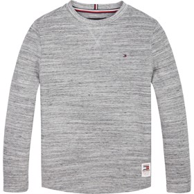 Long sleeved Waffle T-shirt grey - Tommy Hilfiger