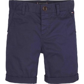 Essential cotton chino shorts Twilight Navy - Tommy Hilfiger