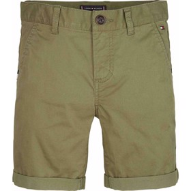 Essential cotton chino shorts Uniform Olive - Tommy Hilfiger