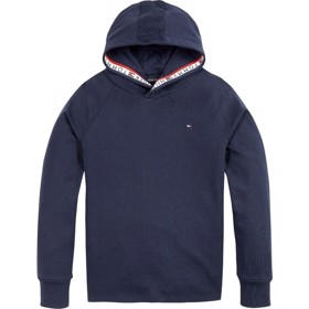 Repeat logo organic cotton Hoody Twilight Navy - Tommy Hilfiger