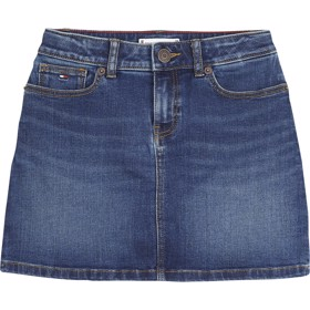A-line skirt clean blue stretch - Tommy Hilfiger