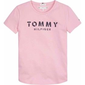 Essential Tommy Tee S/S Sea Pink - Tommy Hilfiger