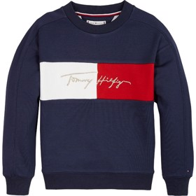 Tommy Icons logo sweatshirt Twilight Navy - Tommy Hilfiger