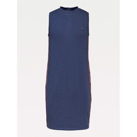 Sleeveless dress twilight navy - Tommy Hilfiger