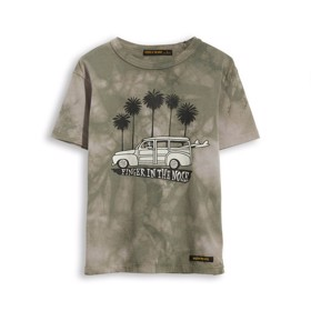 T-Shirt Kid Grey Tie & Dye - Finger in the Nose