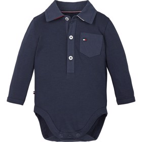 Body Baby boy Poplin Coll Twilight Navy - Tommy Hilfiger