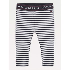 Leggings Stipe organic cotton navy - Tommy Hilfiger