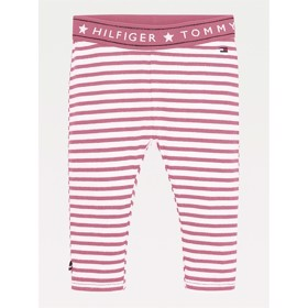 Leggings Stipe organic cotton Exotic Pink - Tommy Hilfiger