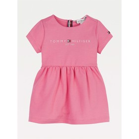 Babykjole Stretch organic cotton exotic pink - Tommy Hilfiger