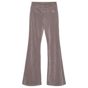 Frances Flare velour Taupe - Designers Remix girls
