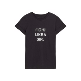 T-shirt Stanley Fight Tee sort - Designers Remix girls