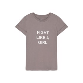 T-shirt Stanley Fight Tee Taupe - Designers Remix girls