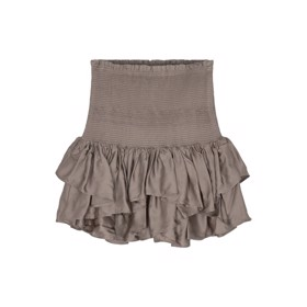 Nederdel Mea Short Skirt Taupe - Designers Remix girls