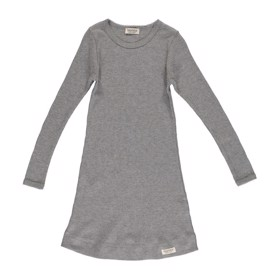 Night dress grey melange modal MarMar natkjole til piger