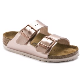 Sandaler Arizona Kids Birko-Flor Electric Metallic Copper - Birkenstock