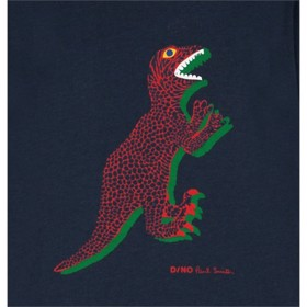 Dino T-Shirts blueberry - Paul Smith Junior