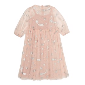Foil Stars Tulle Dress - Stella McCartney