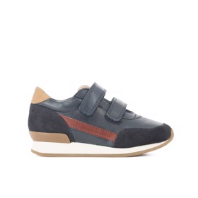 Ten Jog leather Octavius navy/red - 10is