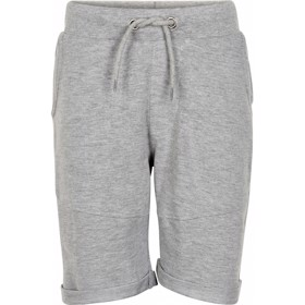 Lars sweatshorts grey melange - The New