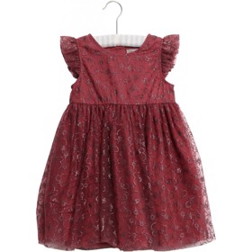 Disney Tulle Dress Mickey X-mas burgundy - Wheat