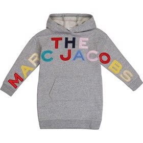 Hooed dress Selection Chine grey - Little Marc Jacobs
