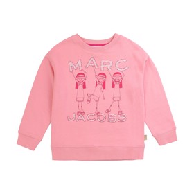 Sweatshirt Cotton Candy Rasberry - Little Marc Jacobs