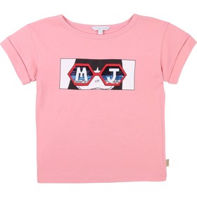 T-shirt Cotton Candy Rasberry - Little Marc Jacobs
