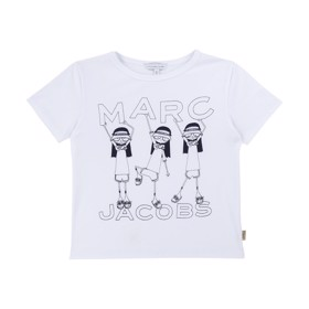 Coney Island T-shirt hvid - Little Marc Jacobs