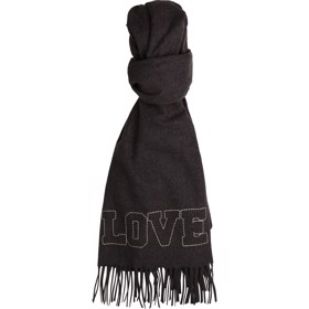 Scarf Charcoal Marl - Zadig & Voltaire