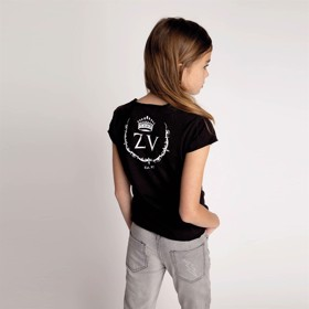 T-shirt Young Rebel Slate blue -  Zadig & Voltaire
