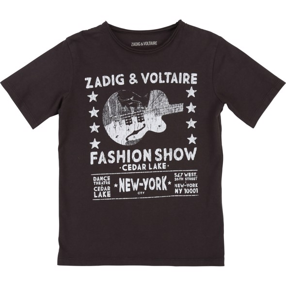 T-shirt med print - Zadig & Voltaire
