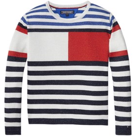 Bright Sparkly Flag CN Sweater - Tommy Hilfiger
