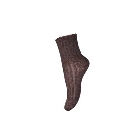 Uldstrømper, Ankle Wool Rib Atlas, purple - MP