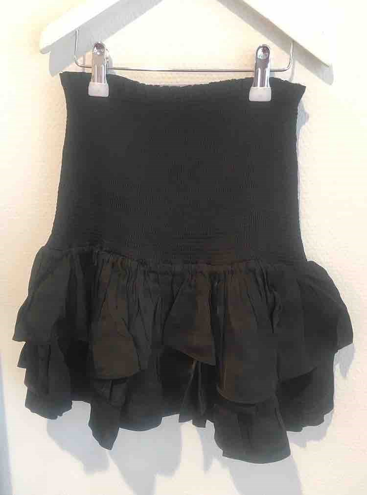 Nederdel Mea Short Skirt sort - Designers Remix girls