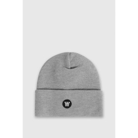 Kai kids beanie grey melange  -  Wood Wood