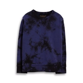 Brian sweatshirt Tie & Dye navy - Finger in the Nose