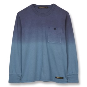 Bluse Nico Stone blue dip dye - Finger in the Nose