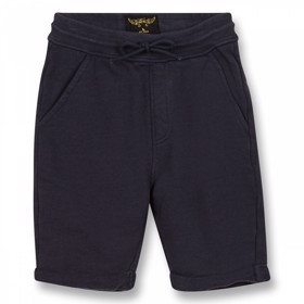 Grounded Sweat shorts navy - Finger in the Nose