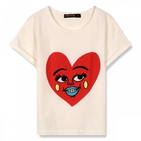 New Britney Heart T-Shirt - Finger in the Nose