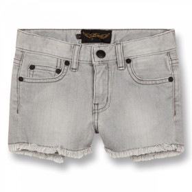 Nova denim mini shorts - Finger in the Nose