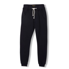 Sprint Black Sweatpants - Finger in the Nose