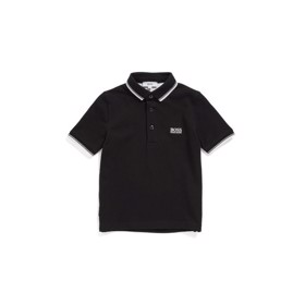 Klassisk logo Polo Sort - BOSS