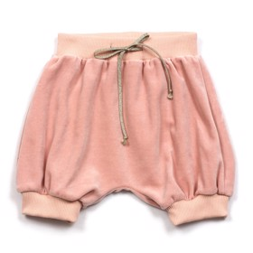Shorts velour dusty rose - Huttelihut