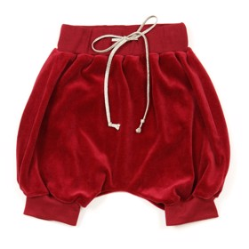 Velour bloomers/shorts wine - Huttelihut