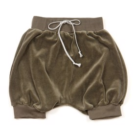 Velour bloomers/shorts army - Huttelihut